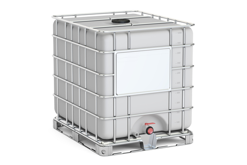 intermediate bulk container closeup