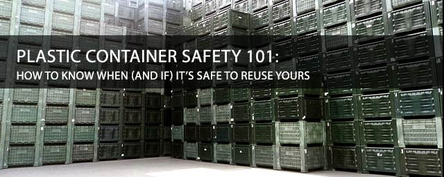 Plastic Container Safety 101