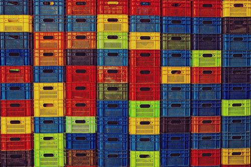 plastic boxes for markets