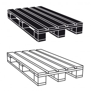 Metal Pallet illustration