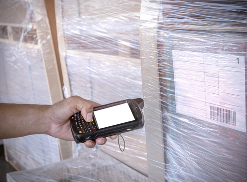 barcode reader against inventory