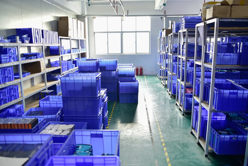 interior small manufacture warehouse