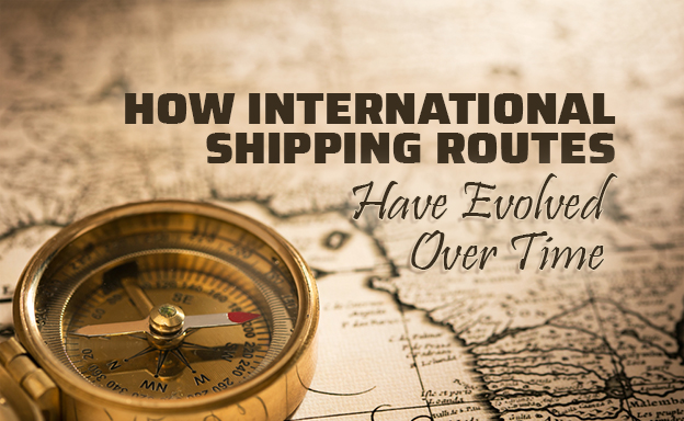 how international shipping routes have evolved
