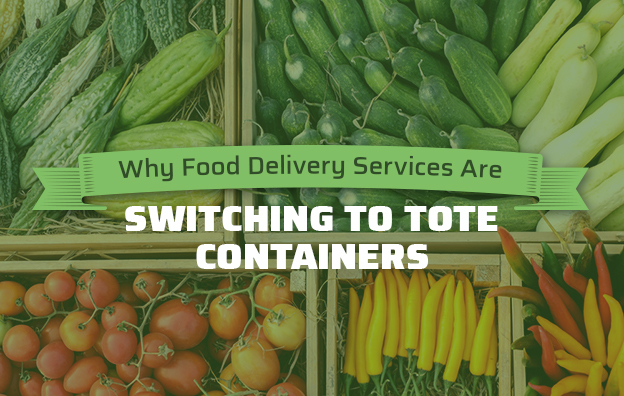 food delivery services switching to tote containers