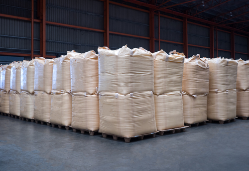 stacking of bulk cargo bags