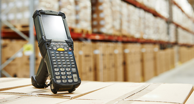 bluetooth barcode scanner in warehouse