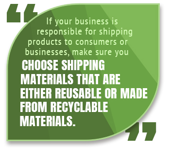recyclable shipping materials quote