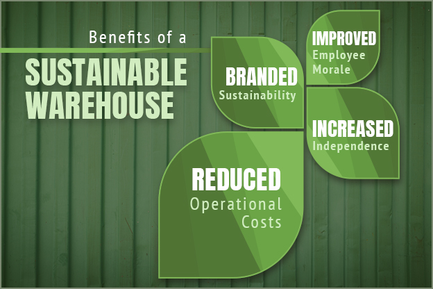 sustainable warehouse benefits