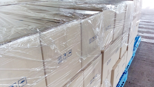 Shrink wrap containers