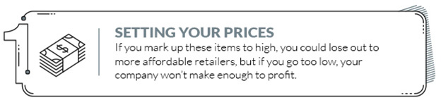Setting your prices