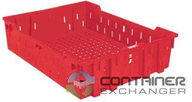 container exchanger red food basket