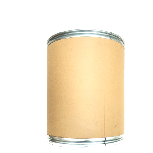 brown paper barrel isolated