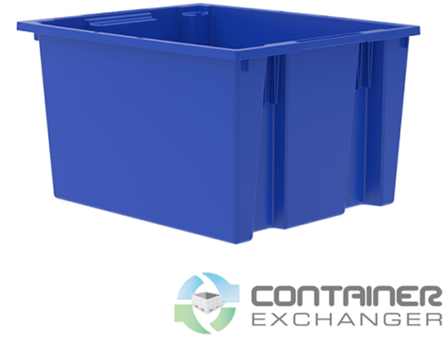 container exchanger nesting tote