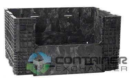 container exchanger stacking plastic tote