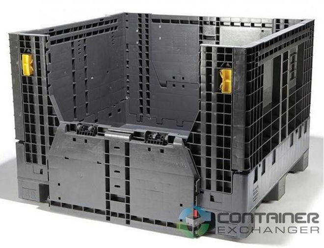 container exchanger collapsible container