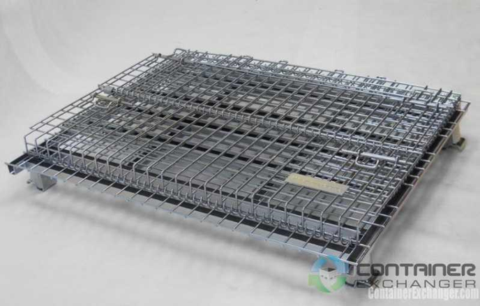 container exchanger collapsible racks