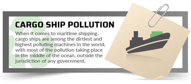 cargo ship pollution quote
