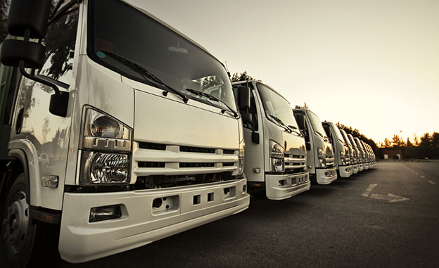 front end fleet of trucks
