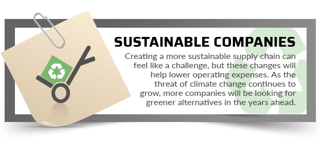 sustainable companies quote