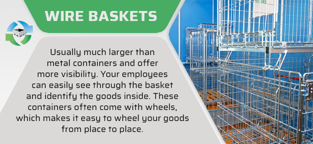 warehouse wire baskets quote