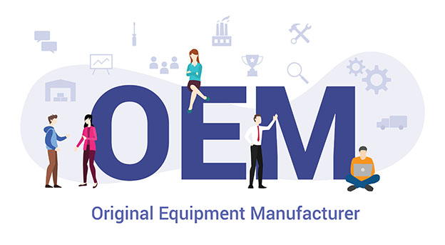 oem original equipment manufacturer concept