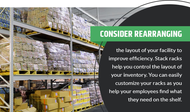 consider rearranging warehouse quote