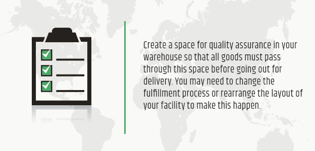 create space for quality assurance graphic
