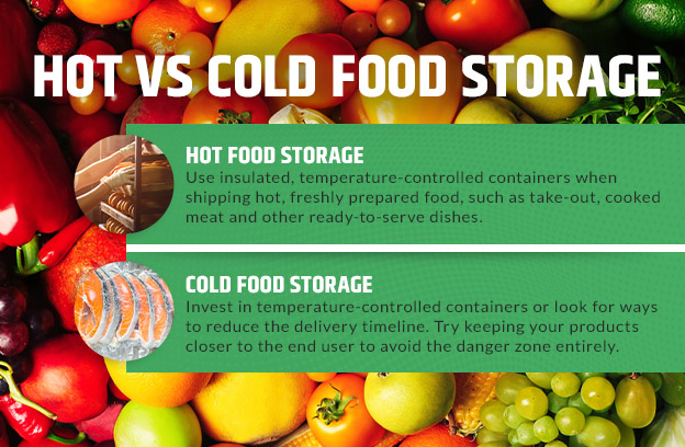 hot vs cold food storage