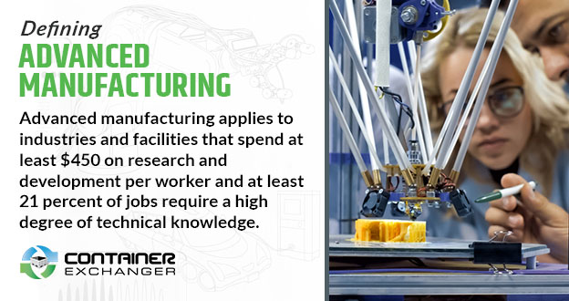 Defining Advanced Manufacturing