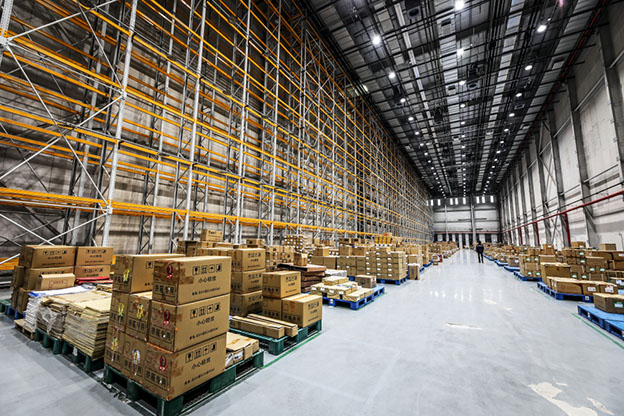 automated warehouse in china