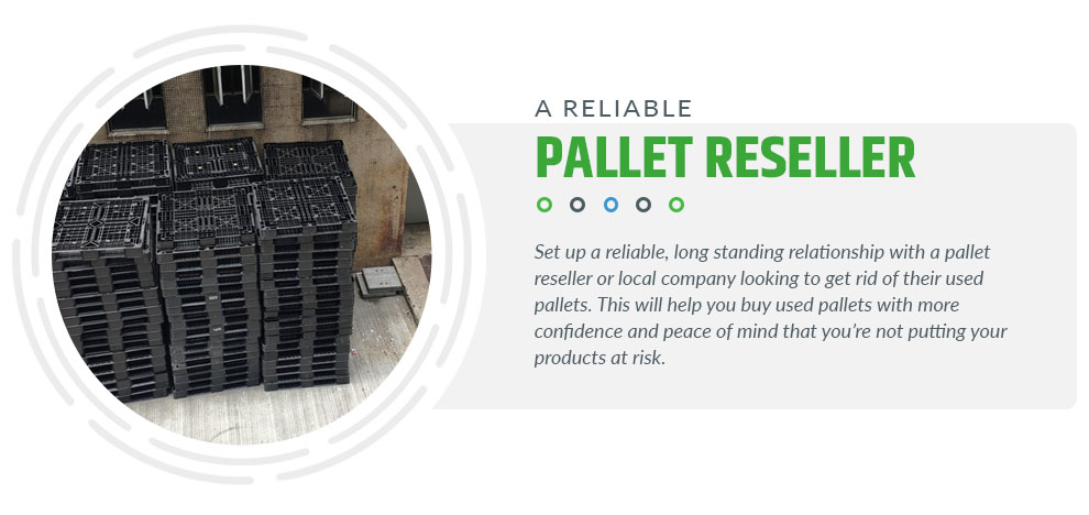reliable pallet reseller