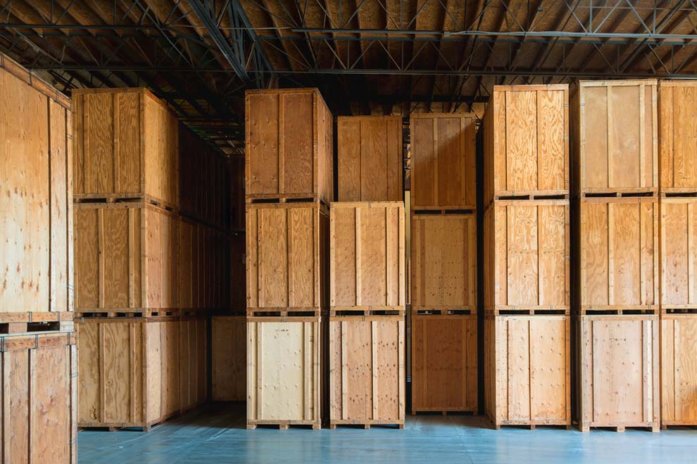 Warehouse with Custom Crates
