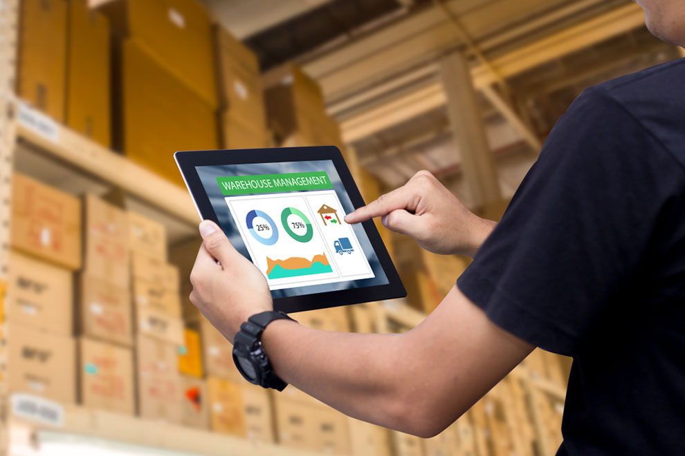 reviewing mobile device dashboard