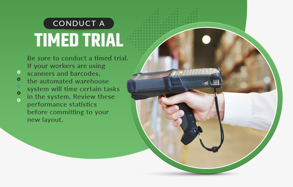 conduct a timed trial
