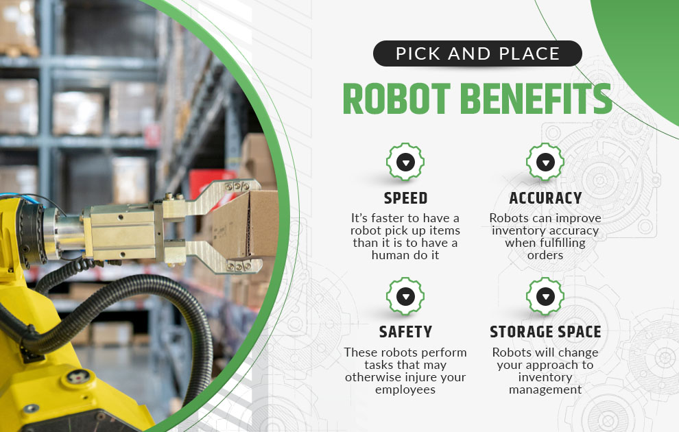 pick and place robot benefits